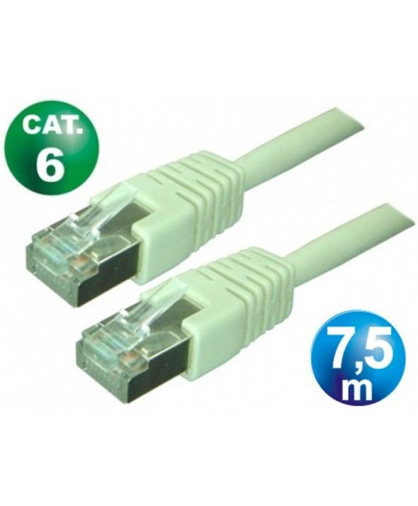 CONEXION TELEFONICA RJ45 8p8c FTP CAT.6 7.5 METROS