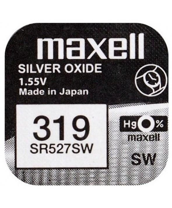 PILA Ox DE PLATA 1.55V (SR527SW) 319 MAXELL