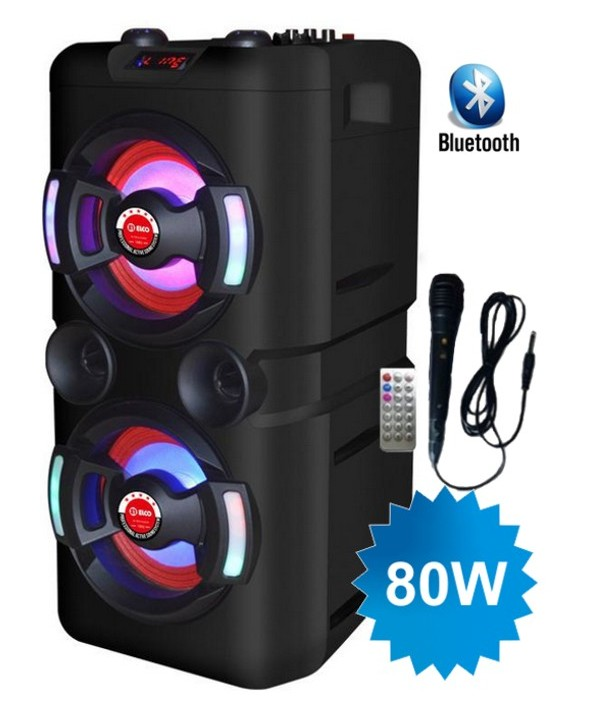 TROLEY 80W MULTIMEDIA BT+M/LIBRES+USB+MICRO ELCO