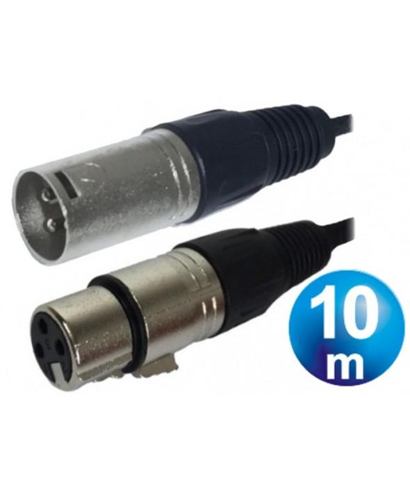 CONEXION CANON M/H 10 m MICROFONO