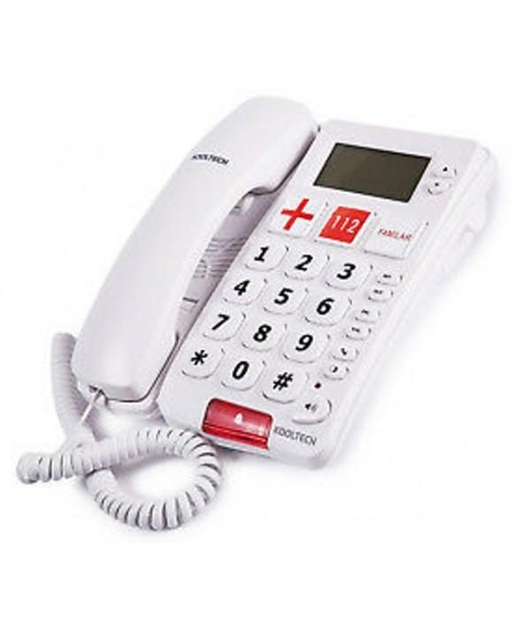 TELEFONO SUPLETORIO NUMEROS GRANDES KOOLTECH
