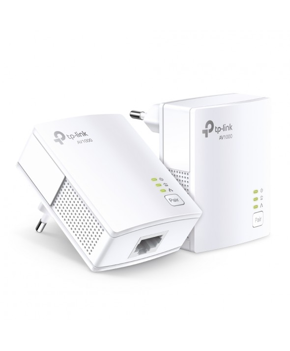 KIT EMISOR WIFFI POR RED ELECTRICA 1000MB TP-LINK