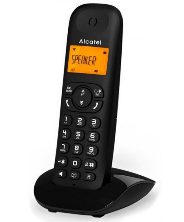 TELEFONO INALAMBRICO ALCATEL MANOS LIBRES NEGRO