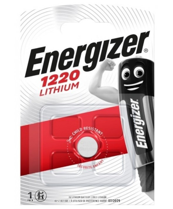 PILA LITIO CR1220 ENERGIZER BLISTER DE 1
