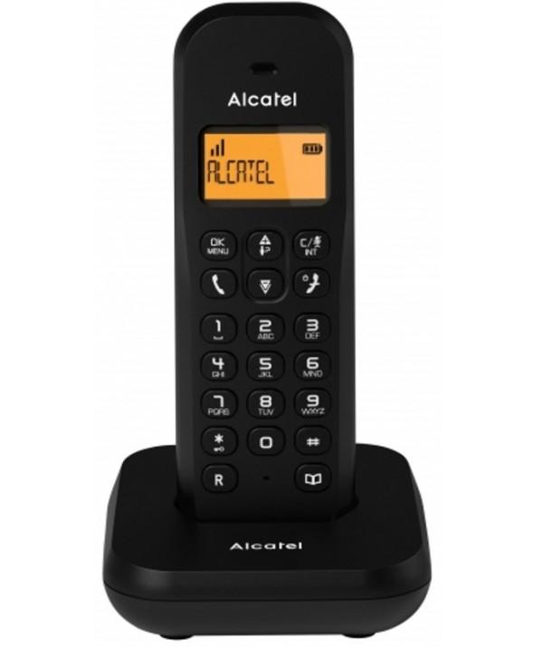 TELEFONO INALAMBRICO ALCATEL NEGRO