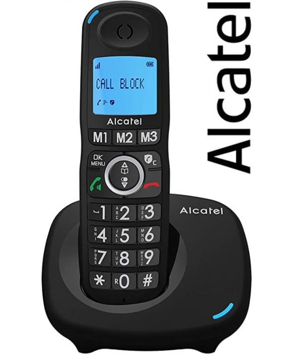 TELEFONO INALAMBRICO TECLAS GRANDES ALCATEL NEGRO