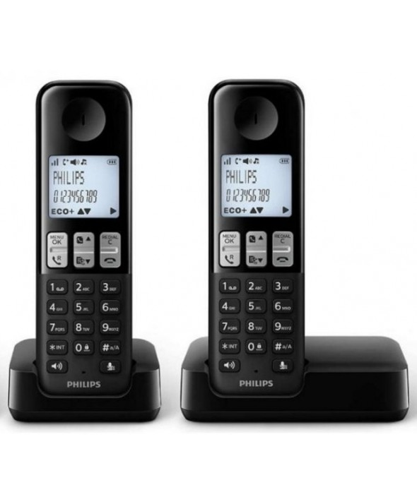 TELEFONO INALAMBRICO DUO D2302B PHILIPS