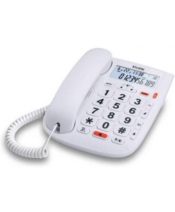 TELEFONO SOBREMESA TECLAS GRANDES PANTALLA ALCATEL