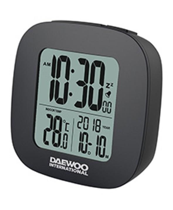 RADIO DESPERTADOR DIGITAL DAEWOO NEGRO