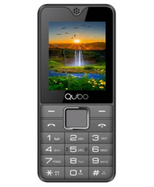 "TELEFONO MOVIL QUBO 1,77"" 2 SIMM 32Mb GRIS"
