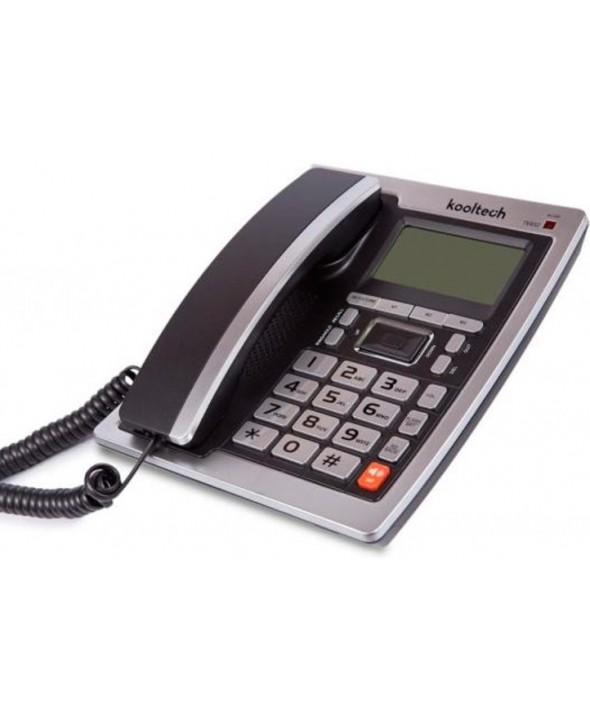 TELEFONO SOBREMESA PANTALLA 2 LINEAS MANOS LIBRES KOOLTECH
