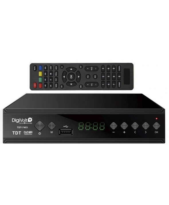 TDT EUROCONECTOR Usb GRABADOR HD T-2 digiVolt