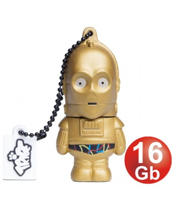 PEN DRIVER 16 Gb Usb2.0 STAR WARS C3PO