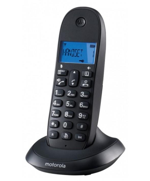 TELEFONO INALAMBRICO MOTOROLA MANOS LIBRES NEGRO