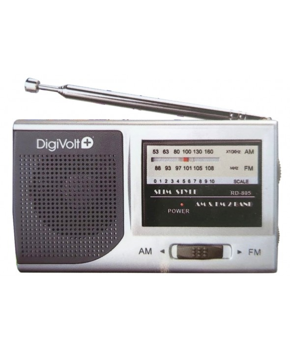 RADIO AM / FM ALTAVOZ MINI DigiVolt