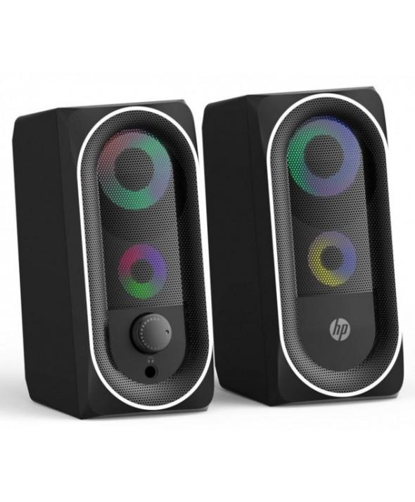 ALTAVOCES PC AUTOAMPLIFICADO 6W Usb HP LUCES