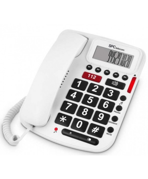 TELEFONO SOBREMESA CONFORT VOLUME SPC
