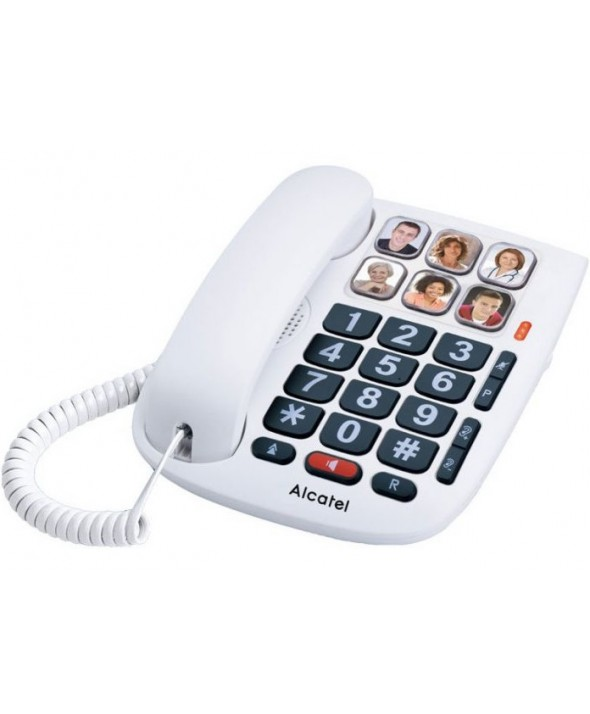 TELEFONO SOBREMESA TECLAS GRANDES FOTOS ALCATEL