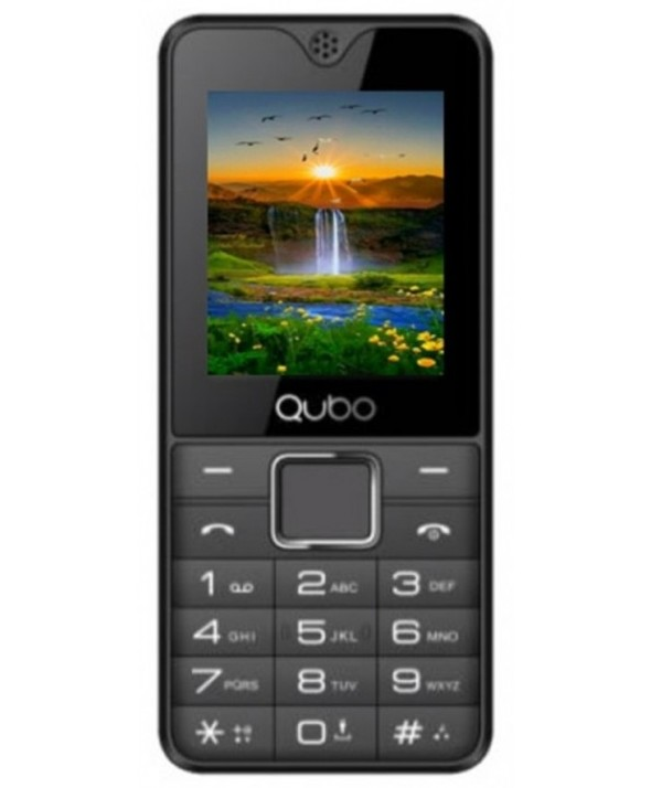 "TELEFONO MOVIL QUBO 1´7"" 2 SIMM 32Mb NEGRO"