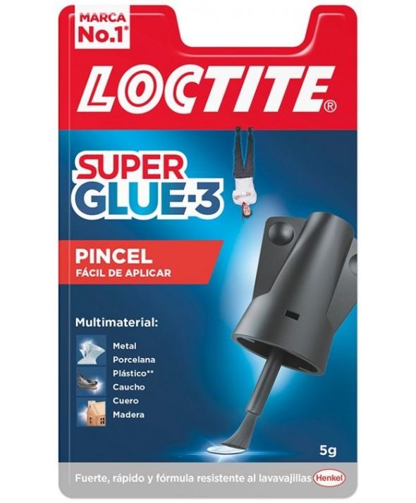 LOCTITE SUPER GLUE-3 PINCEL 5g
