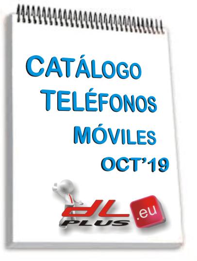 CATALOGO TELEFONOS MOVILES OCT'19