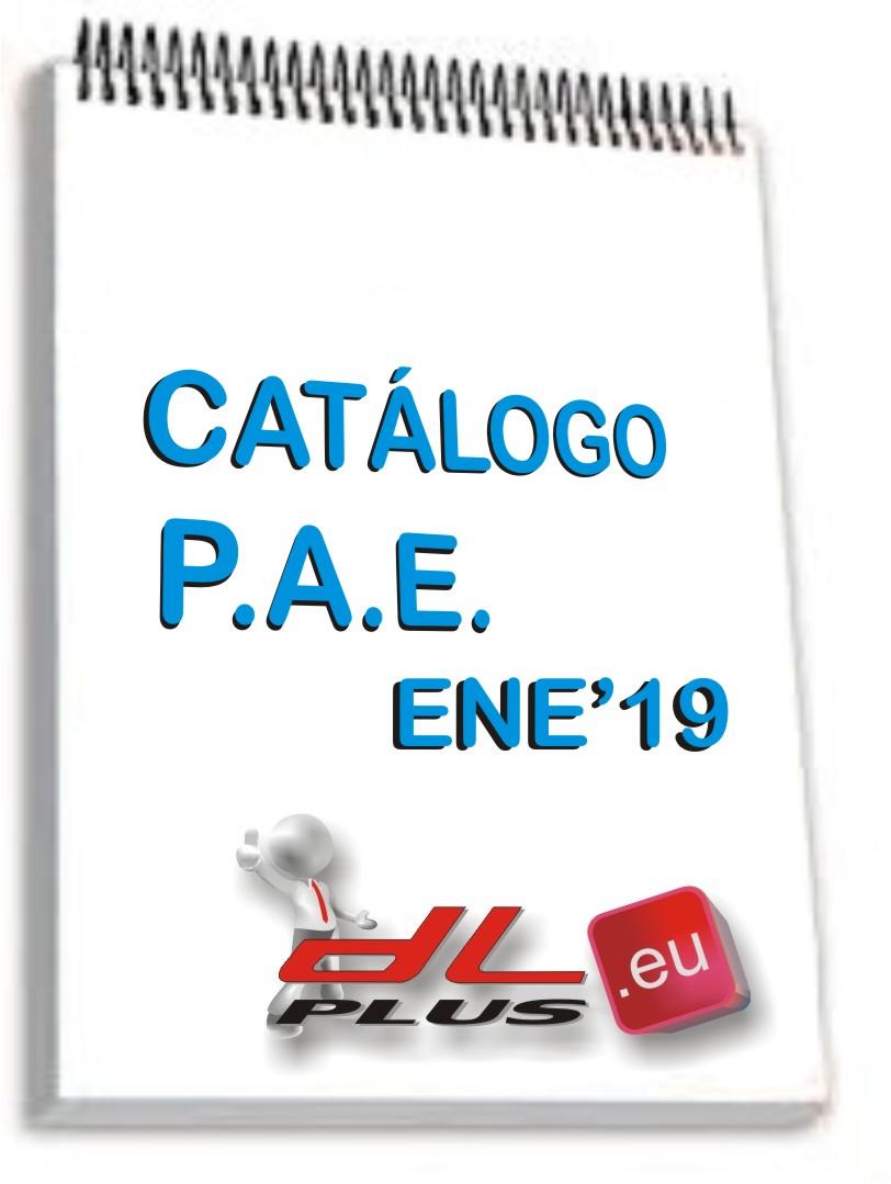CATALOGO PAE 2019