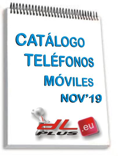 CATALOGO TELEFONOS MOVILES NOV'19